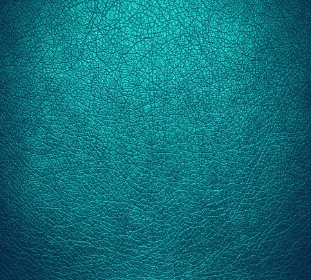 old leather: Teal blue leather texture background