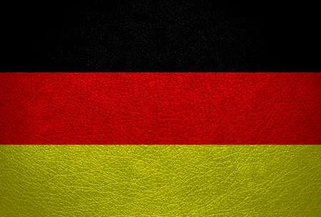 germany flag: germania bandiera pelle vintage