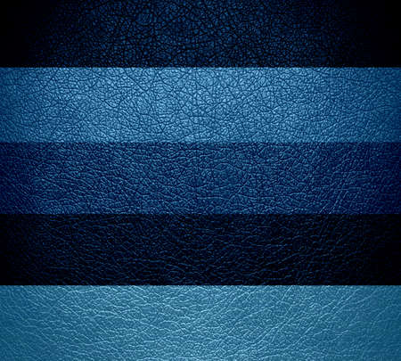 blue leather texture background photo