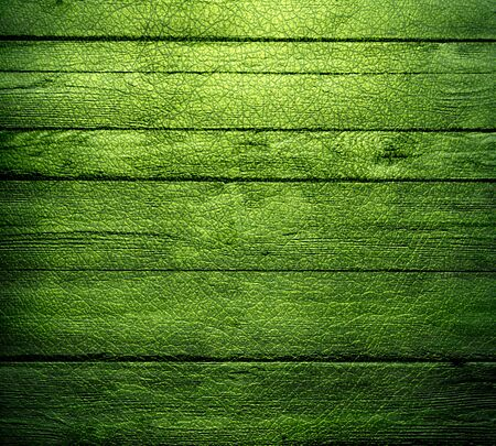 green wood wall texture background photo