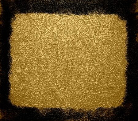 yellow leather texture background photo
