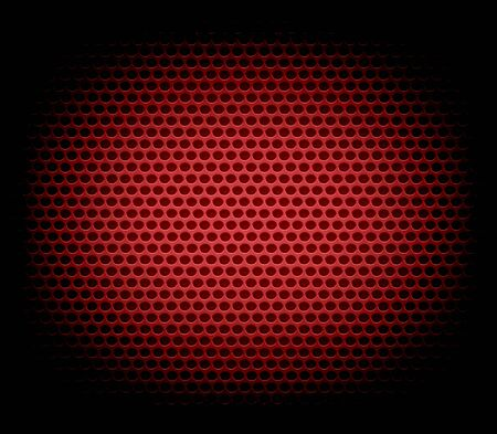 red metal: red metal hole texture background