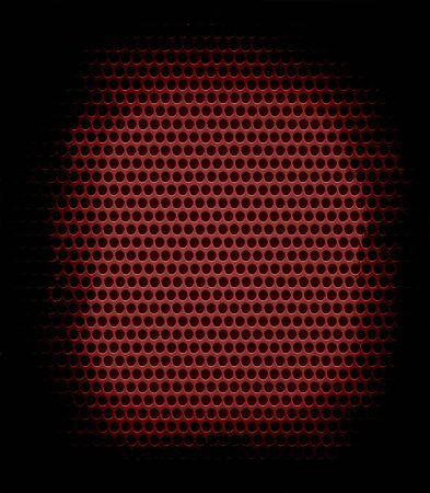 dark brown metal hole texture background photo
