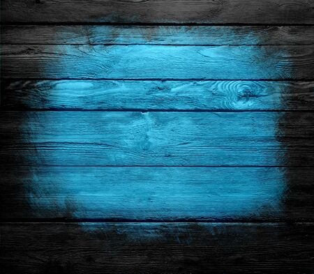 blue wood wall texture background photo
