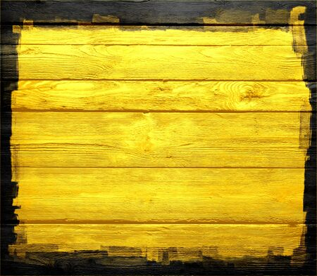 yellow wood wall texture background photo