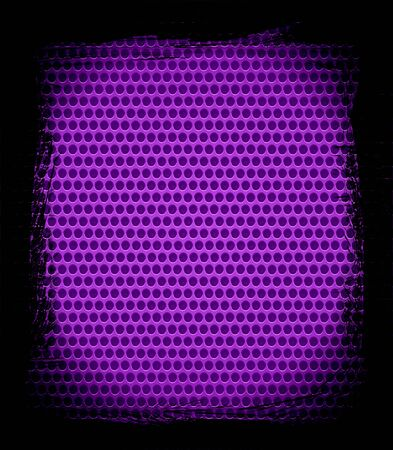 purple steel hole texture background photo
