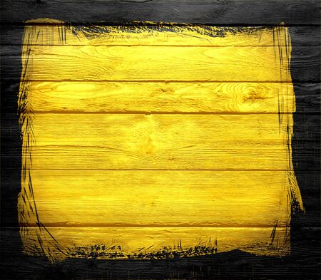yellow wooden texture background photo