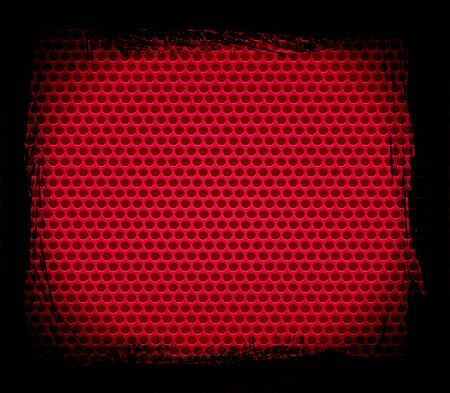 red metal hole texture background photo