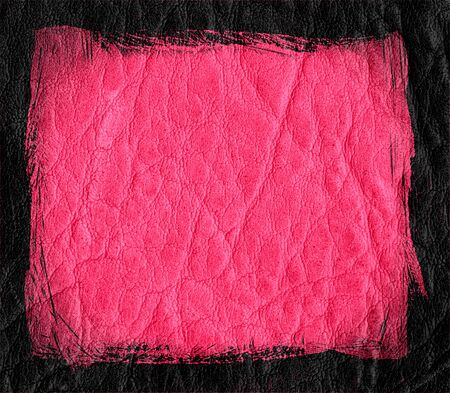 pink leather texture background photo