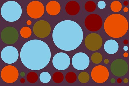 pattern pois: Retro Pop Polka Dot Pattern Background