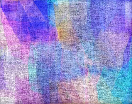 layer masks: Abstract watercolor painted on canvas
