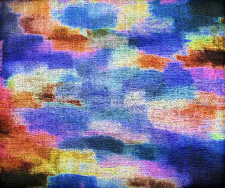 layer masks: Abstract watercolor painted background