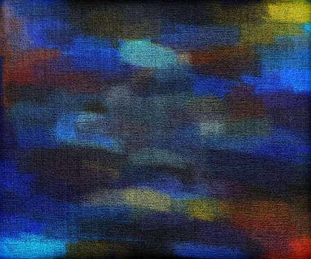 multilayer: Abstract painted background on canvas