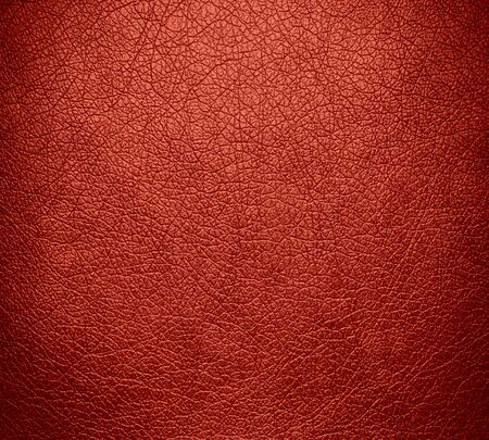 old wall: Red leather texture background surface Stock Photo