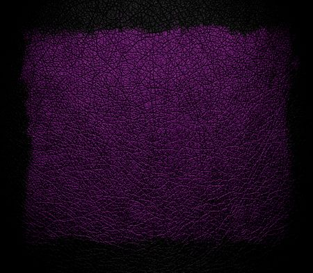 rawhide: Dark purple leather background or texture with black frame