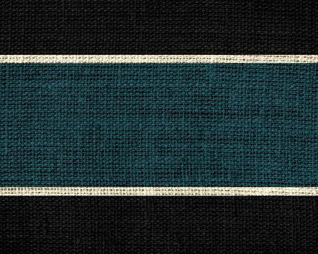 jungle green: Oscuro selva fondo de tela verde y negro de arpillera de yute textura Foto de archivo