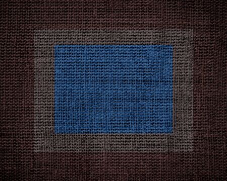 Burlap linen rustic jute textured or background Stock Photo