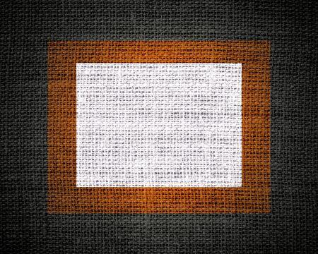 hessian: Burlap linen rustic jute textured or background Stock Photo