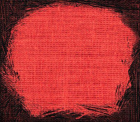 carmine: carmine pink burlap textured background