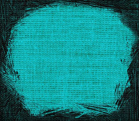 bluegreen: blue-green burlap textured background Stock Photo