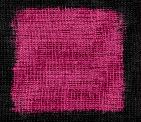 raspberry pink: Pink raspberry burlap textured background