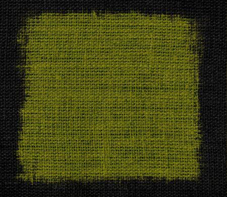 dark olive: Dark olive burlap textured background