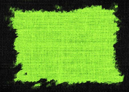 lime green: lime green burlap textured or background Stock Photo
