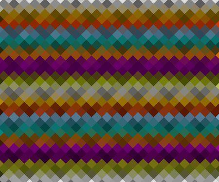 seamless pattern background: Bunte Retro Hipster Dreieck nahtlose Muster Hintergrund