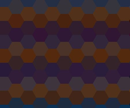 Abstract hexagon seamless pattern background photo