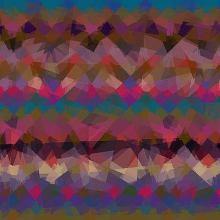 cubismo: Fondo colorido abstracto en el estilo del cubismo