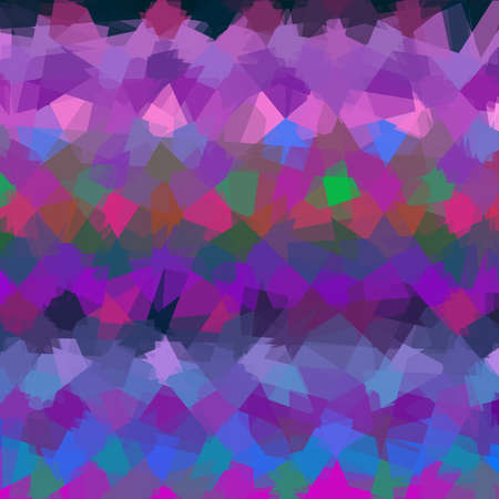 cubism: Abstract colorful cubism geometric background
