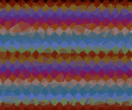 cubism: Abstract colorful cubism background