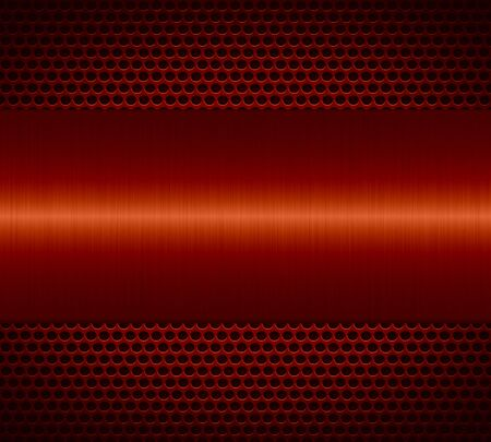 specular: Red metallic texture with holes metal plate background