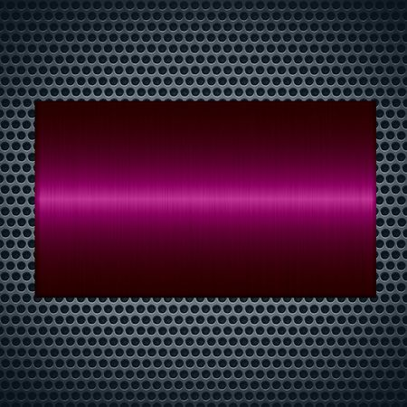 maroon: Maroon metallic texture with holes metal plate background