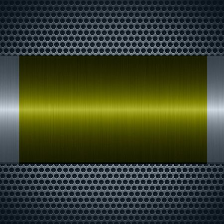specular: Green metallic texture with holes metal plate background