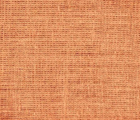 burlap texture: Atomic tangerine burlap texture background
