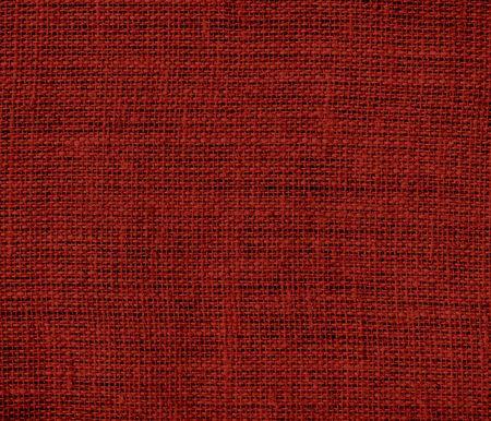 burlap texture: Barn red burlap texture background