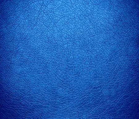 bleu: Bleu de France leather texture background Stock Photo