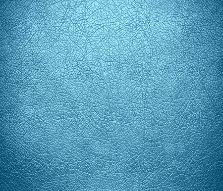 Blizzard Blue leather texture background Stock Photo