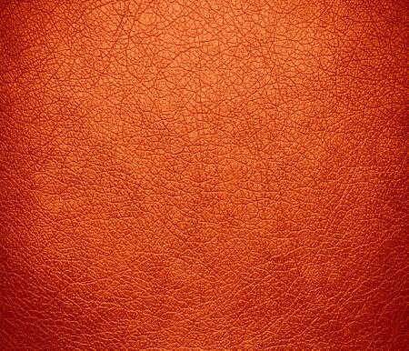 rawhide: Orange (Crayola) leather texture background