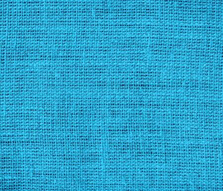 cerulean: Bright cerulean burlap texture background