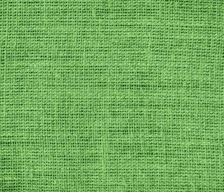 burlap texture: Bud green burlap texture background Stock Photo