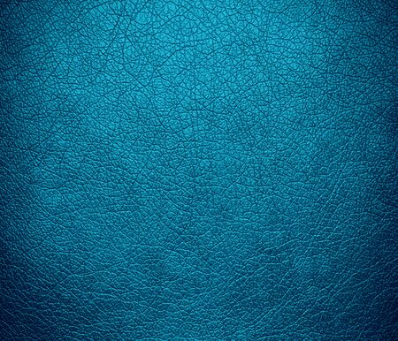 luxury background: Bondi blue leather texture background Stock Photo