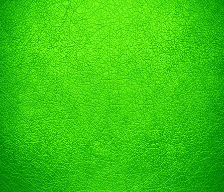 bolster: Bright green leather texture background