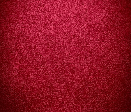 maroon leather: Bright maroon leather texture background Stock Photo