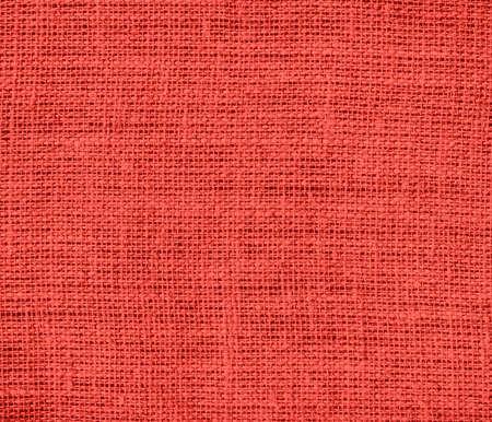 carmine: Carmine pink burlap texture background