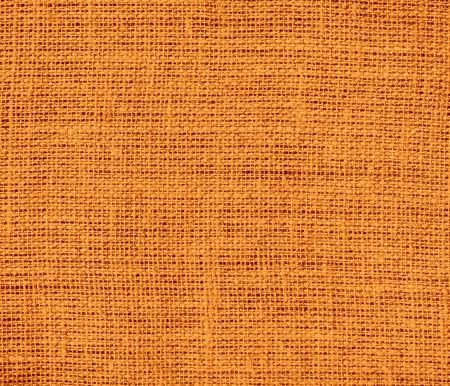 burlap texture: Cadmium orange burlap texture background
