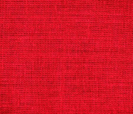 burlap texture: Cadmium red burlap texture background Stock Photo