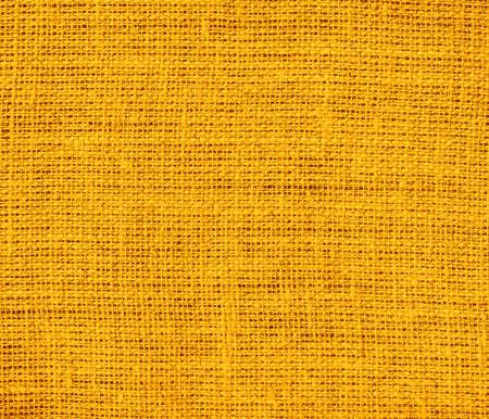 burlap texture: Chrome yellow burlap texture background