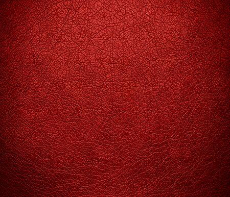 rawhide: Carnelian leather texture background Stock Photo